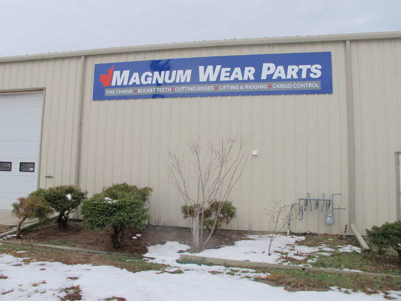 Wall Sign - Magnum Wear