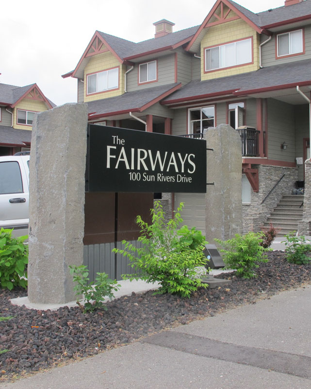 Fairways Entrance